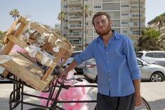 Candyfloss seller, Beirut, Lebanon Stock Image