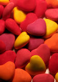 Candyhearts 1 Photographie stock
