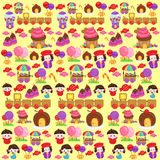 Candyland Background Royalty Free Stock Photos