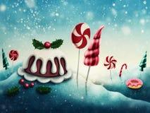 Candyland da fantasia Imagem de Stock Royalty Free