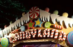 Candyland e gumdrops Foto de Stock