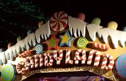 Candyland en gumdrops Stock Foto