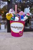 Candylicious em Universal Studios Singapura foto de stock royalty free