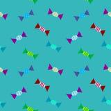 Candys样式颜色与 免版税库存图片