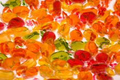 Candys. Color Candys with whithe  bacgroung Royalty Free Stock Photography