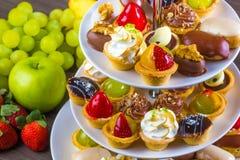 Candys del dolce del partito Fotografia Stock