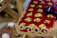 Candys del partido Fotos de archivo