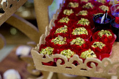 Candys del partito fotografie stock