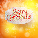 Candys world Merry Christmas. EPS 10 Stock Photos