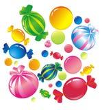 CandyWhite Stock Image
