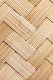 Cane basket. An cane basket is form bamboo make of stock illustration