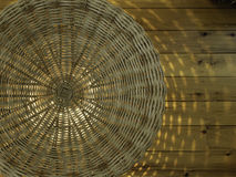 Cane basket abstract Royalty Free Stock Photos