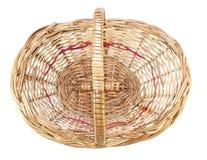 Cane basket Stock Photo