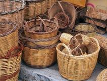 Cane Baskets, Plaka, Athens Stock Image