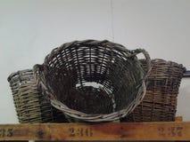 Cane baskets Stock Photography