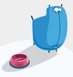 Cane blu Fotografia Stock
