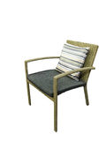 Cane chair Royalty Free Stock Photo