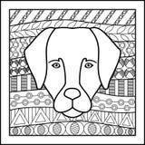 Cane cinese del segno dello zodiaco Fotografie Stock Libere da Diritti