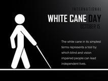 Cane Day bianco internazionale Immagini Stock Libere da Diritti