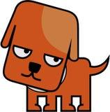 Cane del Brown amichevole Immagine Stock Libera da Diritti
