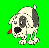 Cane del fumetto Fotografia Stock Libera da Diritti