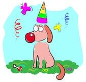 Cane del partito illustrazione vettoriale