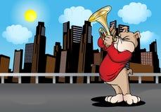 Cane del trombettista Fotografia Stock Libera da Diritti
