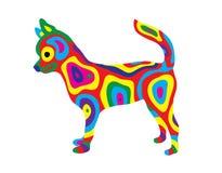 Cane 9 dell'arcobaleno Fotografia Stock