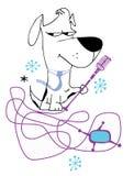 Cane dell'attuatore Immagini Stock