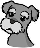 Cane dello schnauzer miniatura illustrazione vettoriale