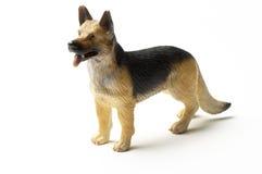 Cane di giocattolo Alsatian Fotografia Stock