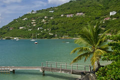 Cane Garden Bay in Tortola Stock Images