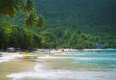 Cane Garden Bay, Tortola BVI, del Caribe foto de archivo libre de regalías