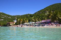 Cane Garden Bay, Tortola, BVI Stock Images
