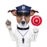 Cane poliziotto Fotografia Stock Libera da Diritti