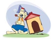 Cane, protezione domestica Fotografia Stock Libera da Diritti