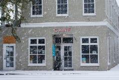 Cane Rhum Bar, calle del este de la bahía, Charleston, SC Foto de archivo libre de regalías