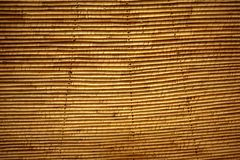 Cane roof traditional african ceiling system Stock Images