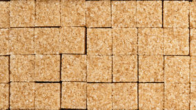 Cane sugar in blocks Royalty Free Stock Image