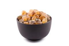 Cane sugar in a bowl Stock Photo
