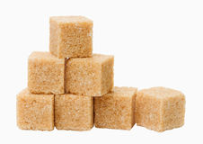 Cane sugar close up Stock Images