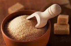Cane sugar. Close up shot of Cane sugar Royalty Free Stock Photo