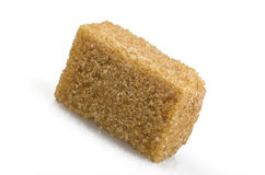 Cane sugar cubes Royalty Free Stock Image