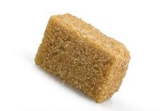 Cane sugar cubes Royalty Free Stock Image