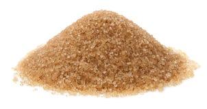 Cane sugar isolated on white background Stock Images