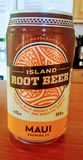 Maui rootbeer authentic stock photography