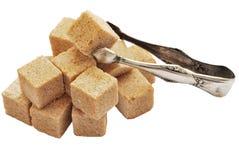 Cane sugar&shiptsy sugar Stock Image