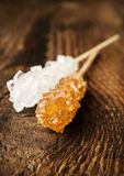 Cane sugar on a stick Royalty Free Stock Photos