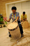 Cane weaving,IFICH 2013,China Stock Photo