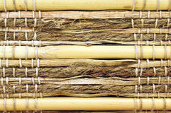 Cane and wicker background Royalty Free Stock Images